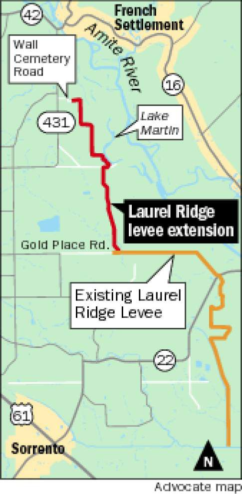 Levee proposal gets mixed reviews from Lake Martin and St. Amant residents _lowres