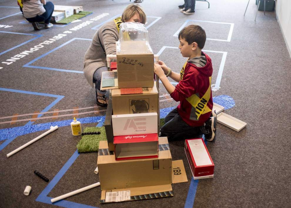 Kids use their imagination to create model city in Baton Rouge _lowres