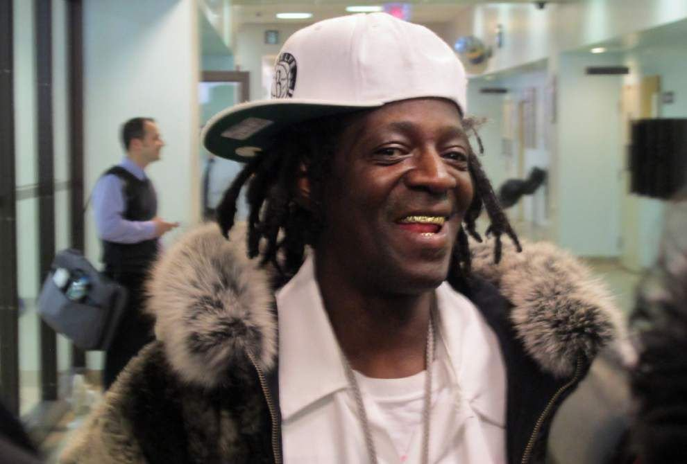 Rapper Flavor Flav appears in NY court _lowres