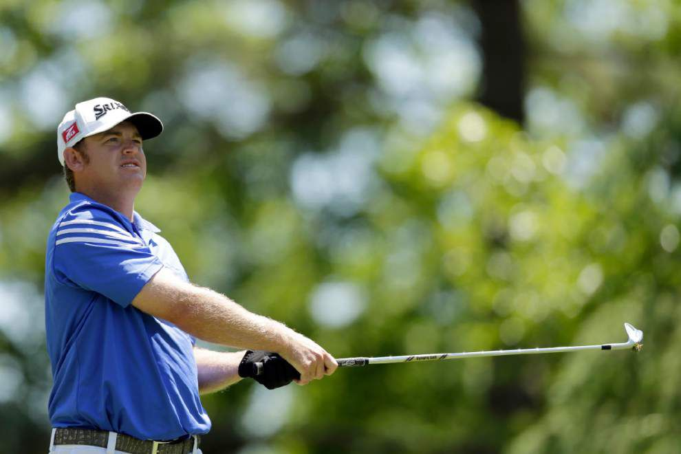 J.B. Holmes grabs lead at Wells Fargo _lowres