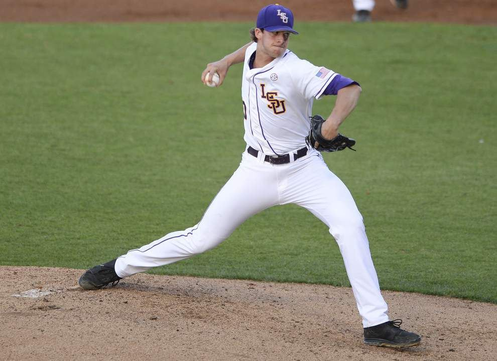 LSU freshman Parker Bugg to get first college start _lowres