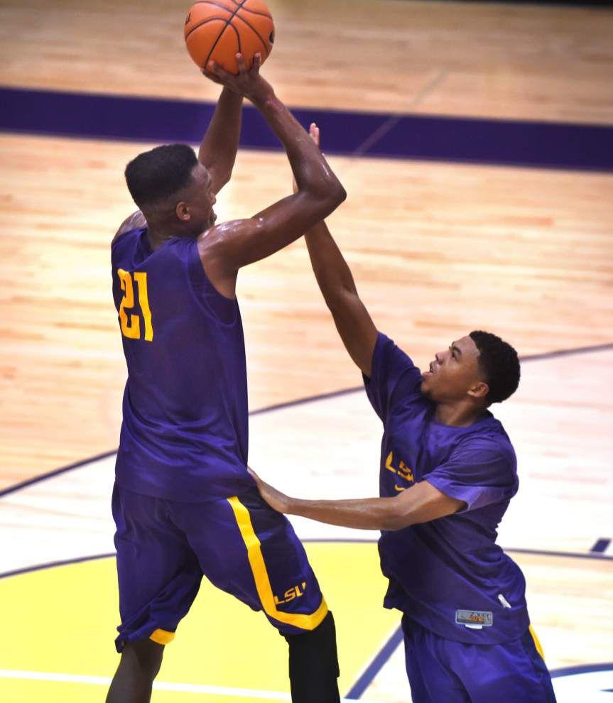Notebook: LSU begins trek to basketball season _lowres