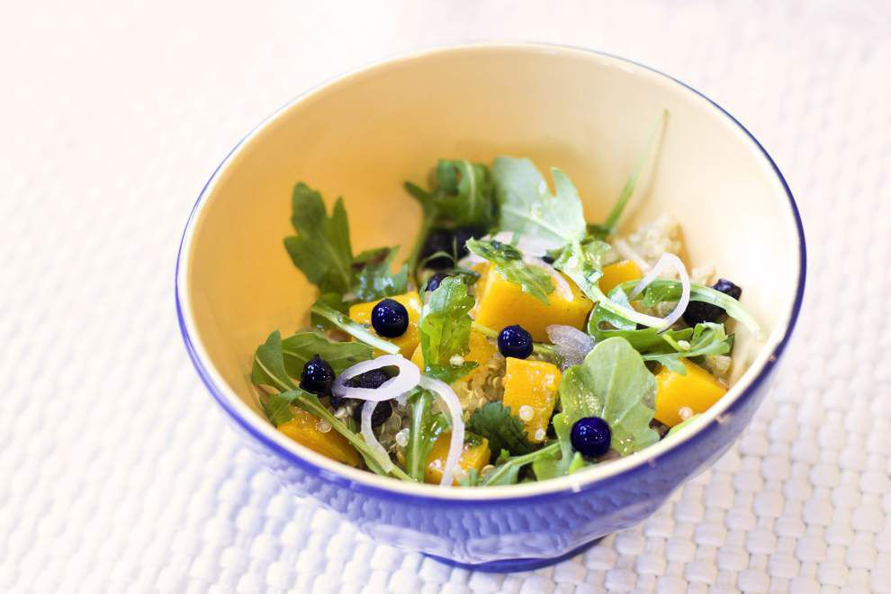 Wild Blueberry, Butternut Squash and Quinoa Salad _lowres