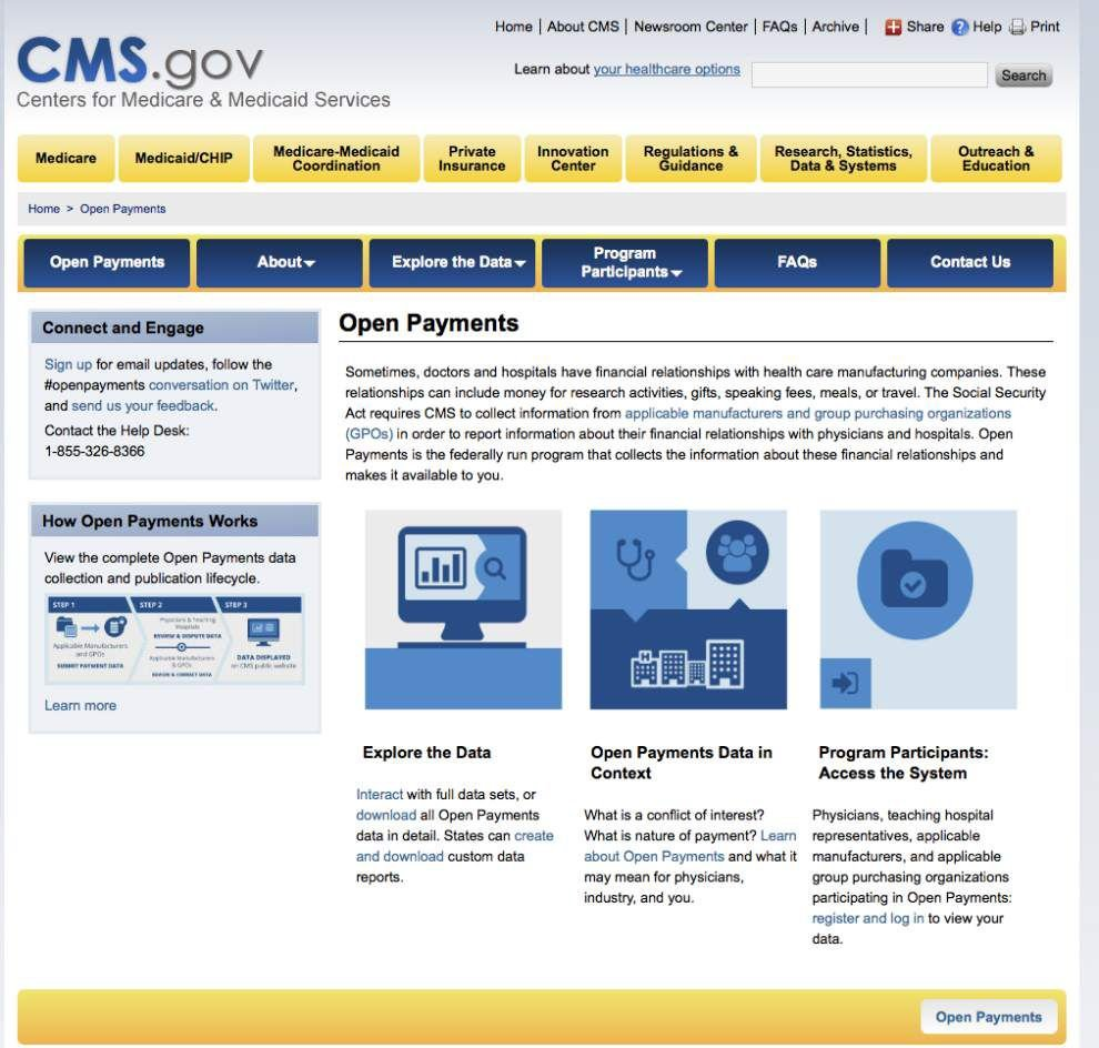 Government website for doctor payments not up to snuff _lowres