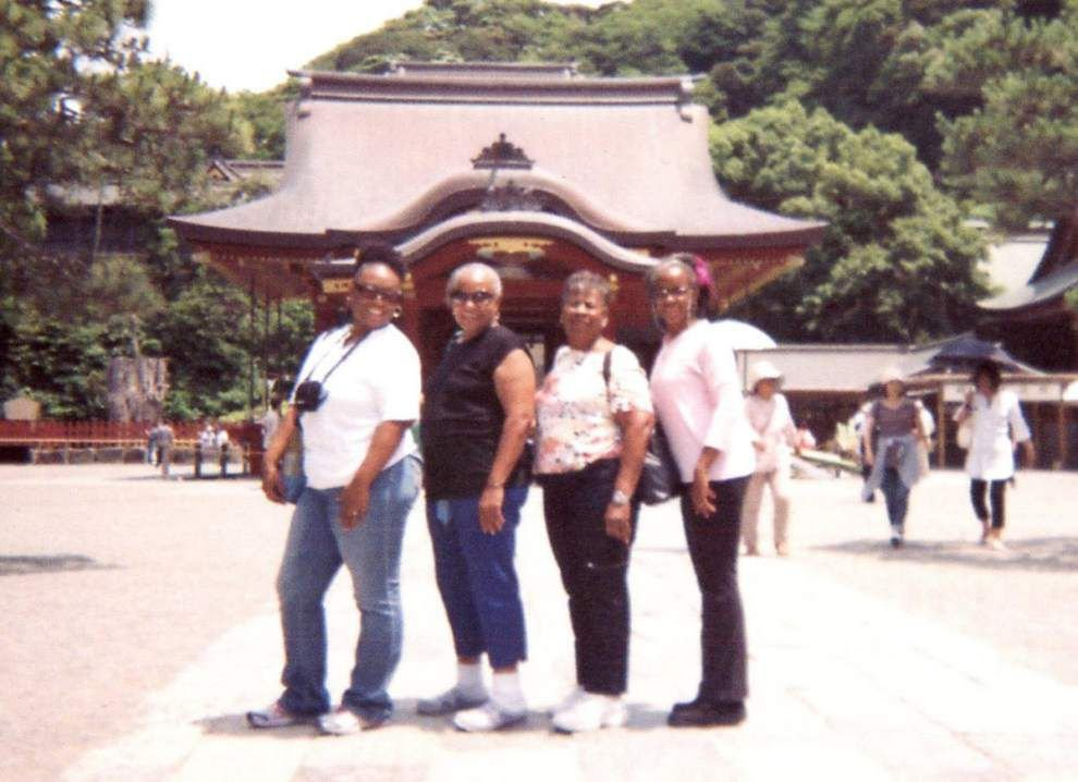 Group of four takes memorable visit to Japan _lowres