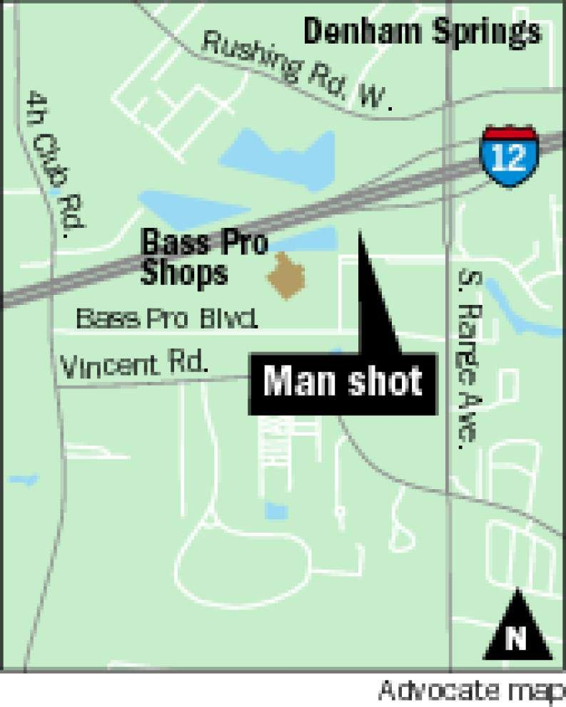 Denham Springs officer shoots, kills man near Bass Pro Shops after weapon brandished, police say _lowres
