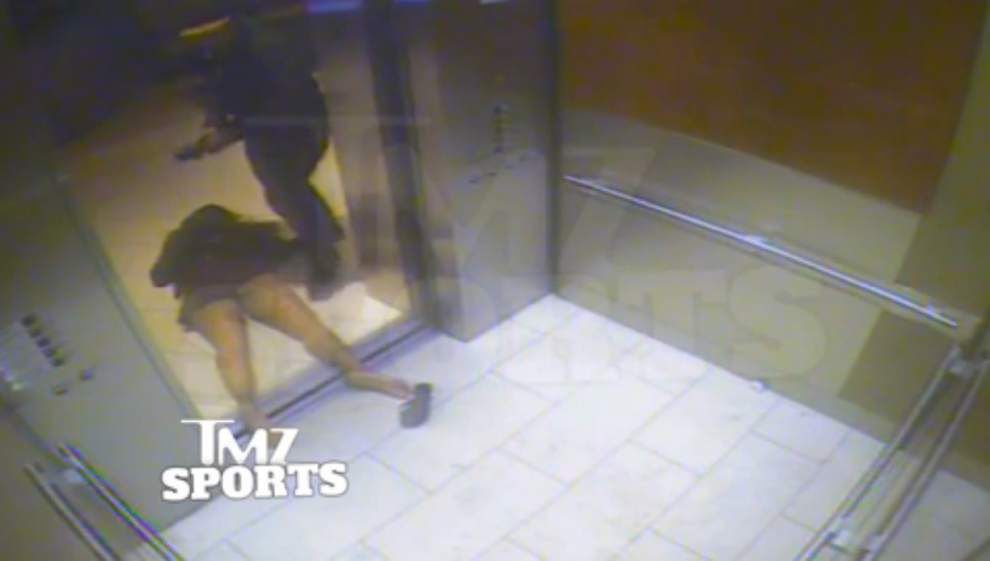 NFL received Ray Rice video in April, AP source says _lowres