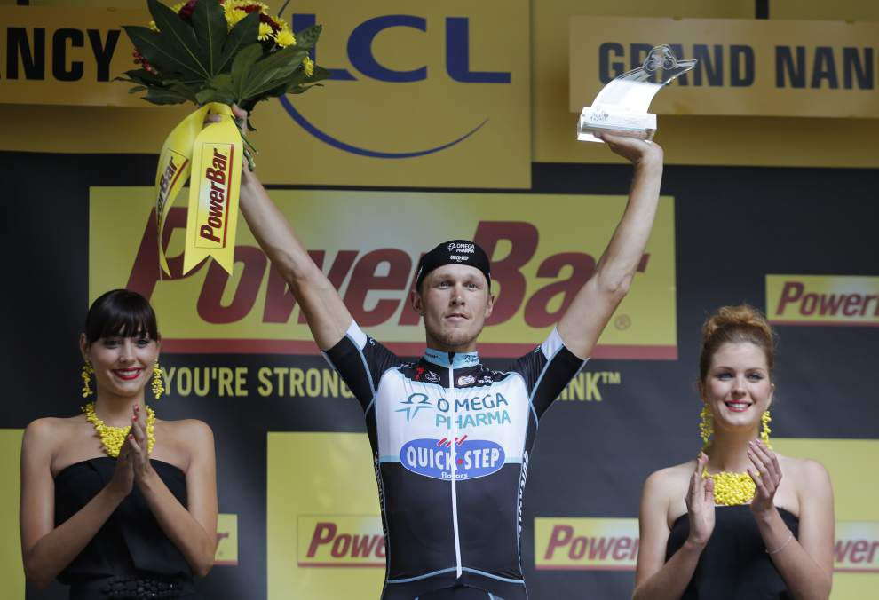 Italy's Matteo Trentin wins 7th Tour leg of Tour de France _lowres