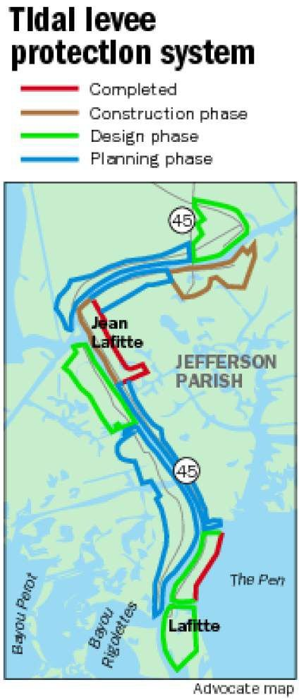 Work starts on protective levee for Jean Lafitte _lowres