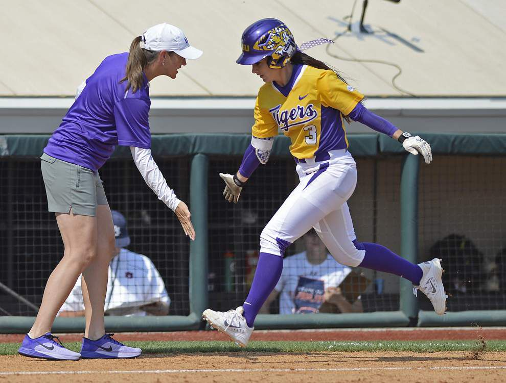 LSU softball team opens season with busy weekend _lowres