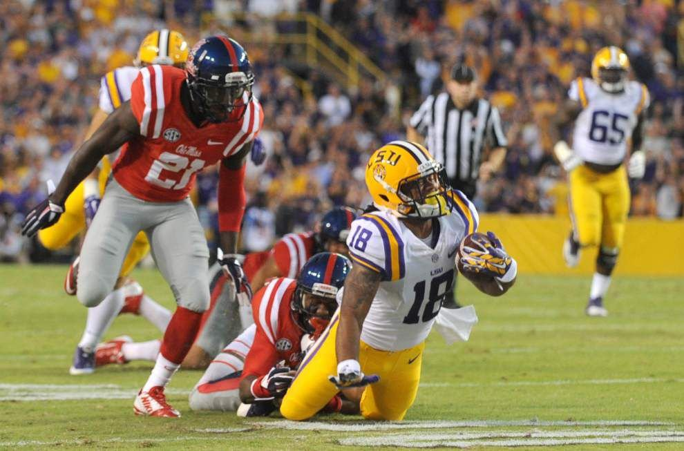 LSU defeats Ole Miss 10-7 in football in Tiger Stadium _lowres