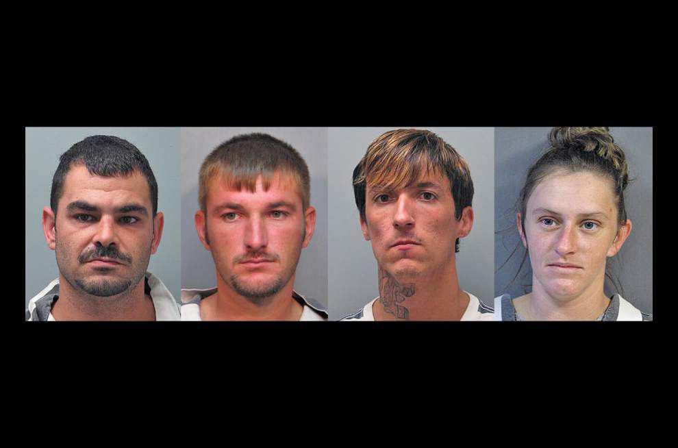 Four arrested in rash of burglaries at camps in Vermilion Parish _lowres