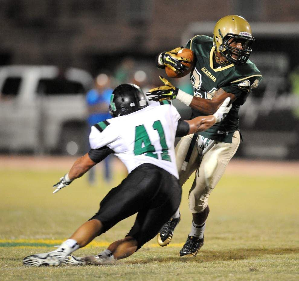 Photos: Acadiana area prep football _lowres
