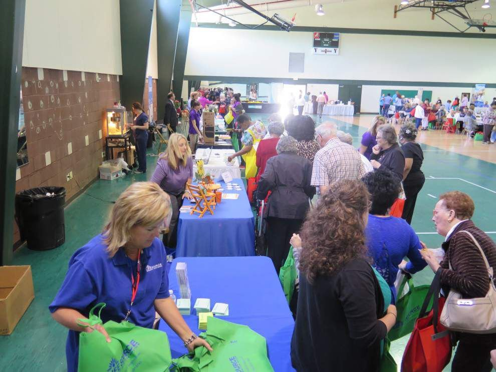 Hearing loss among topics health fair for aging tackles _lowres