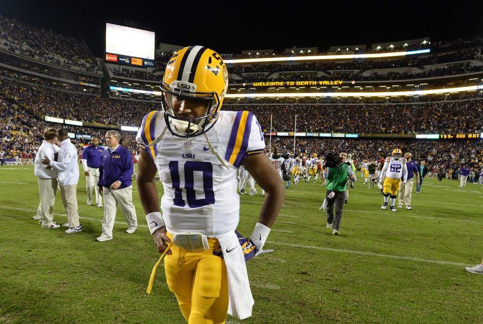 Video: LSU quarterback Anthony Jennings explains final plays in loss to Alabama _lowres