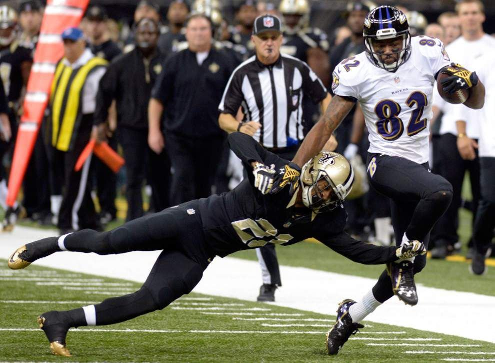 Photos: Saints take on Ravens _lowres