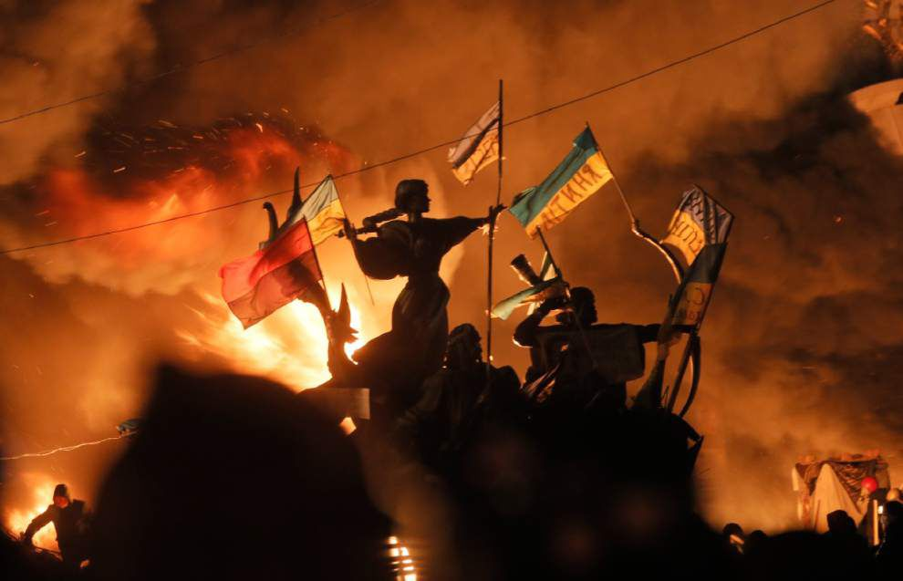 World worried over deteriorating situation in Kiev _lowres