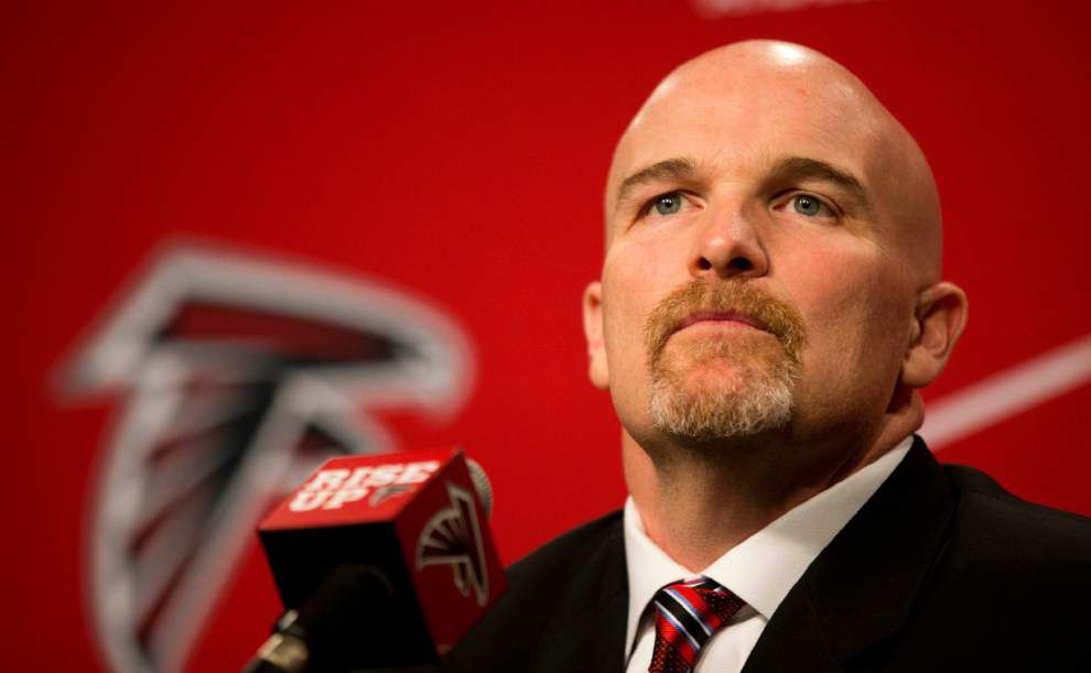 New Atlanta Falcons coach Dan Quinn lays out plan; Browns receiver Josh Gordon suspended for season _lowres