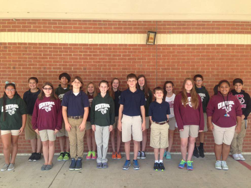 16 Central Middle students chosen for Duke talent search _lowres
