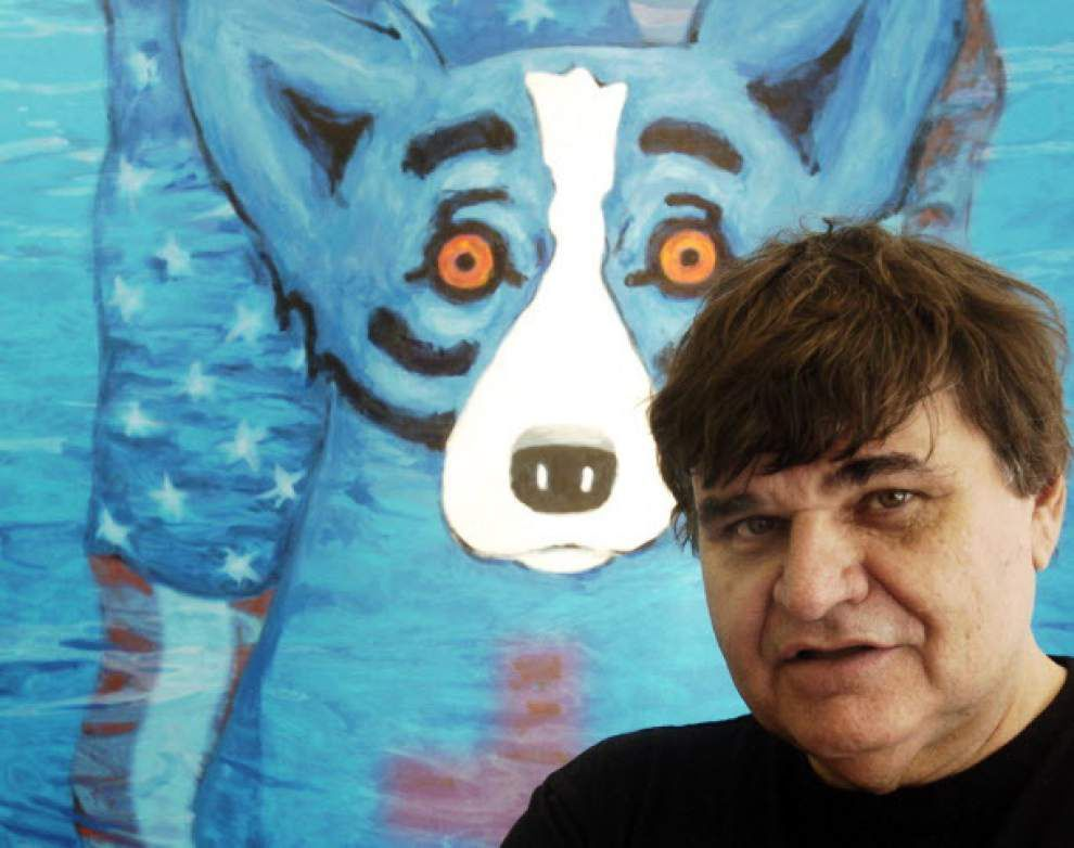 George Rodrigue's estate releases posthumous print _lowres