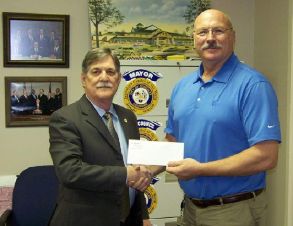 Potash donation to pay for City Room repairs _lowres