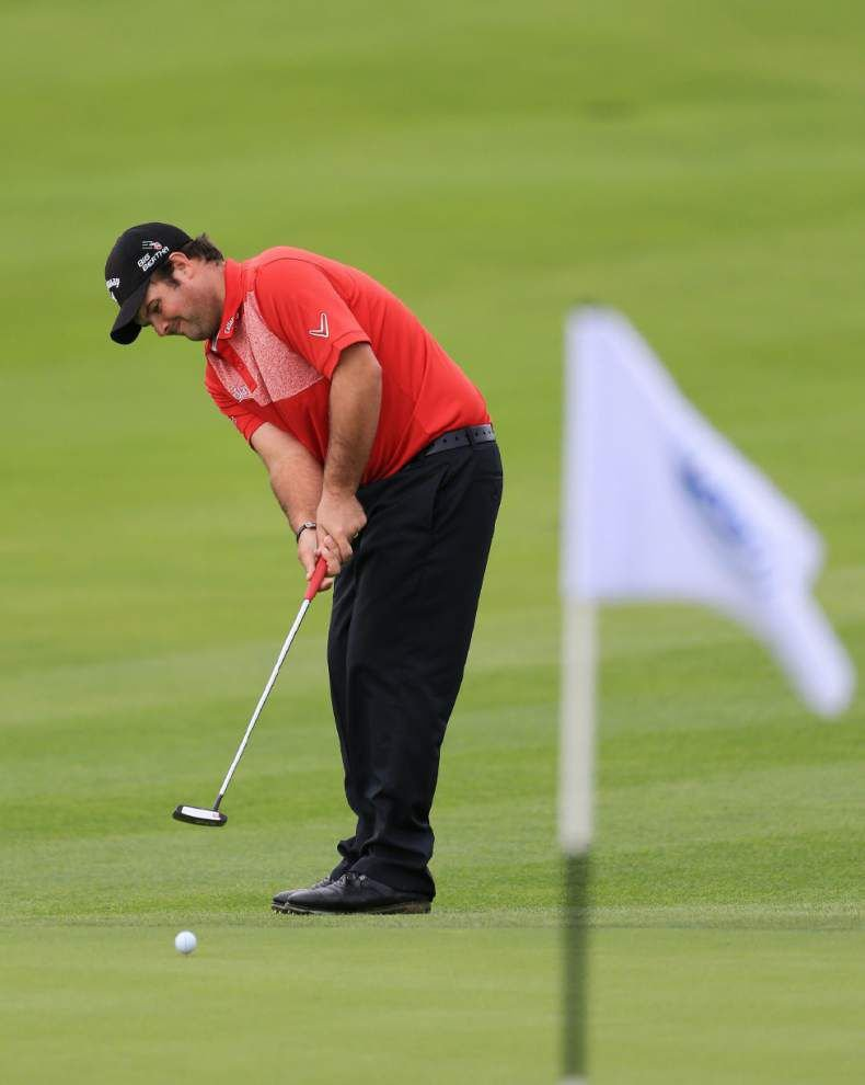 Defending champion Graeme McDowell upset; Patrick Reed wins _lowres