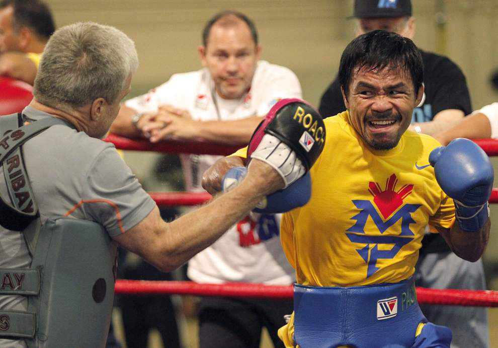 Pacquiao in need of signature win _lowres