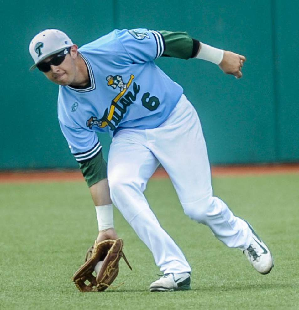 Tulane wraps up fall baseball _lowres