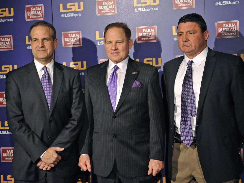 Video: LSU defensive line coach Ed Orgeron says he can't wait to get started recruiting _lowres