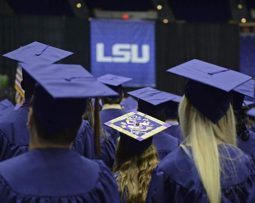 Thousands of LSU students could make history this week as one of school's largest graduation classes _lowres