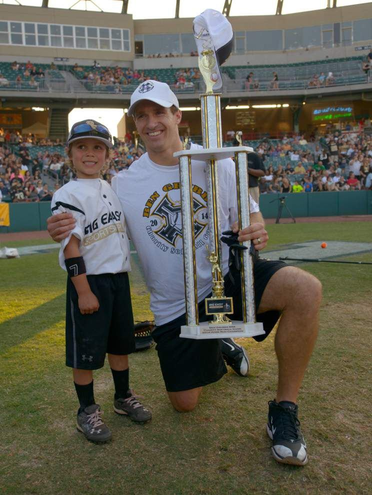Video: Saints' QB Drew Brees celebrity softball event _lowres