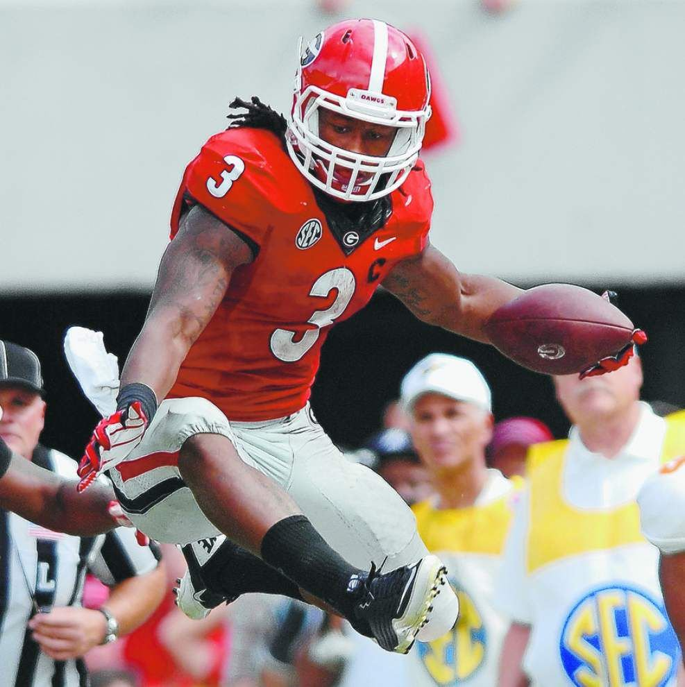 Notebook: Georgia Coach Mark Richt: Todd Gurley to enter draft _lowres