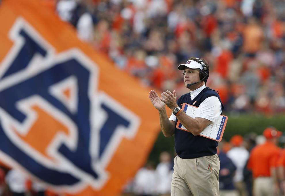 Auburn's challenging stretch opens with a visit from LSU _lowres