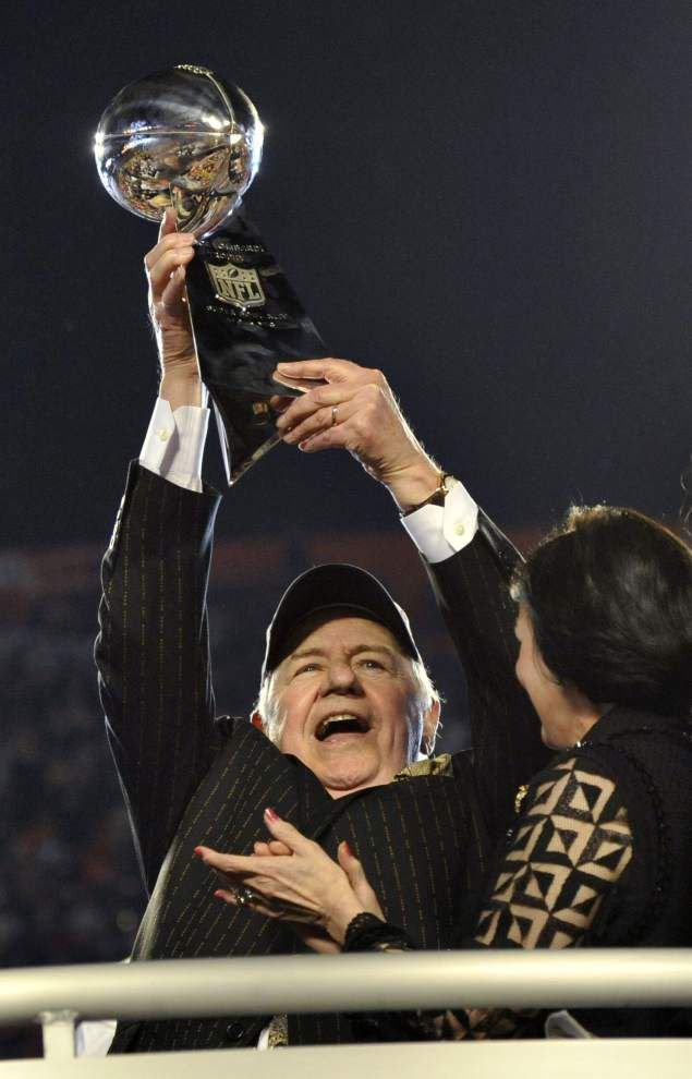 Saints owner Tom Benson rebounds with La. Sports HOF induction _lowres