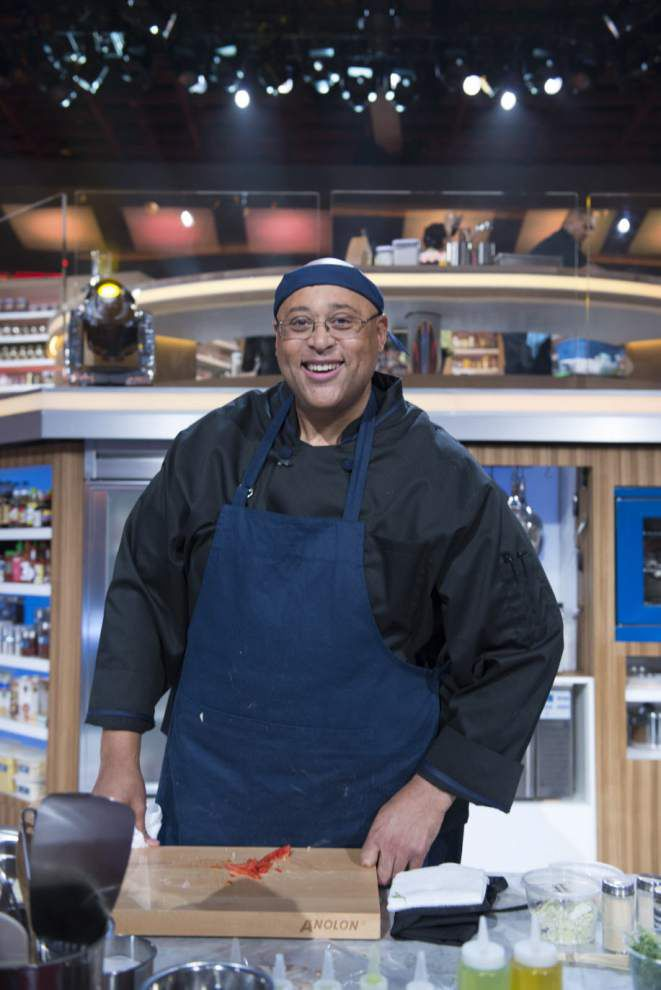 N.O. chef hits the ring in 'Food Fighters' _lowres