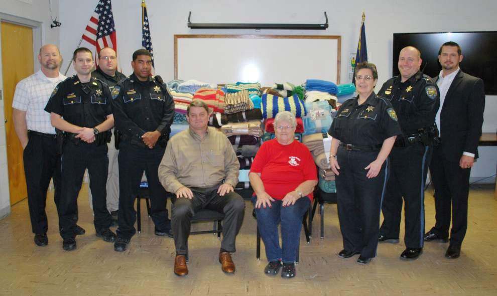 St. Mary Council on Aging distributes warm blankets to seniors _lowres