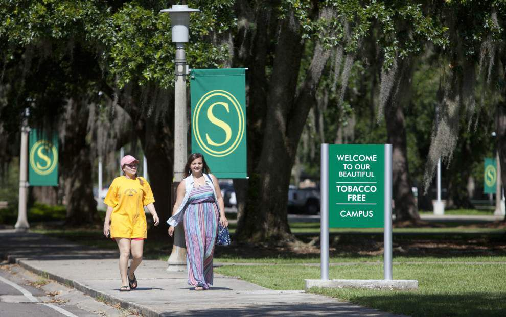 Southeastern campus in Mandeville smoke free _lowres