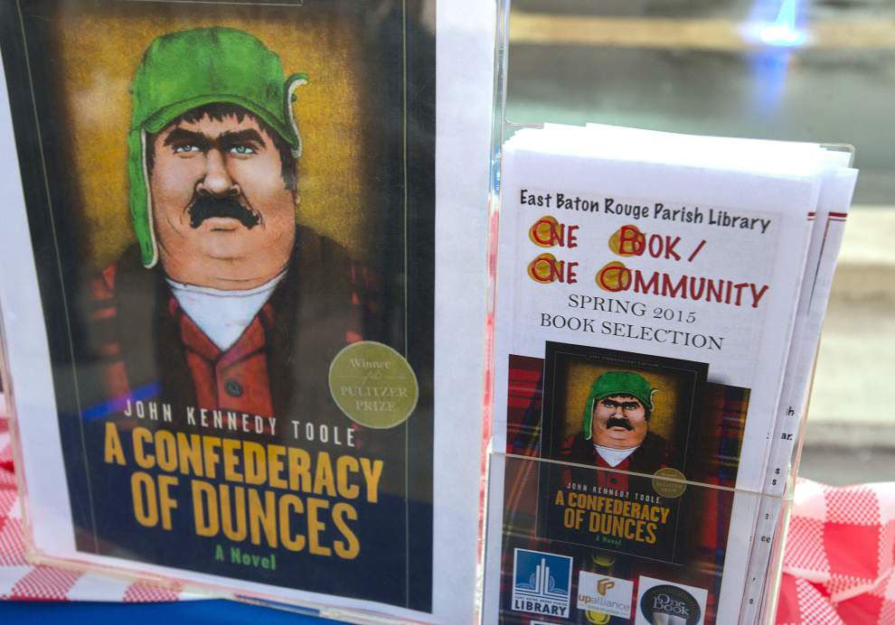 Block party in downtown Baton Rouge uses 'Confederacy of Dunces' as theme _lowres