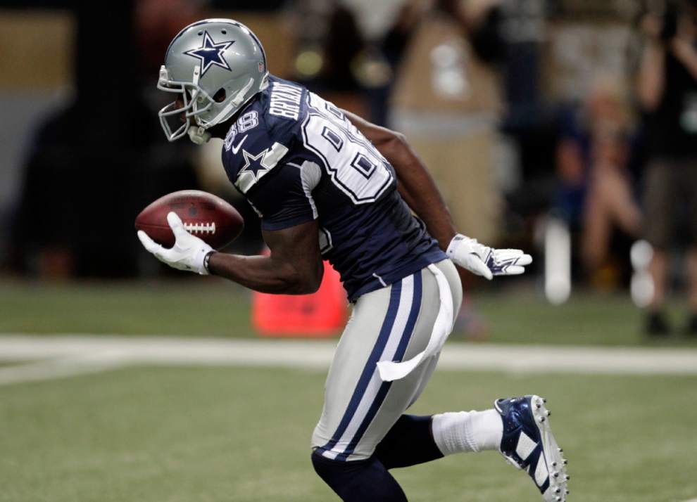 New Orleans Saints on alert for Cowboys receiver Dez Bryant _lowres