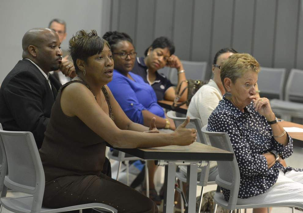 Group decries plans to cut the size of the EBR School Board _lowres