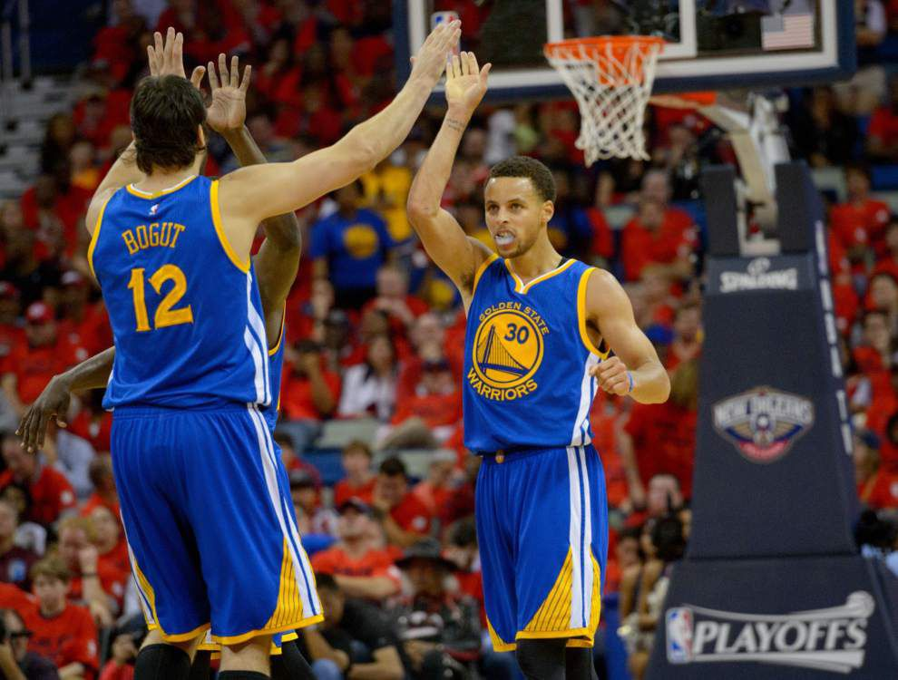 Stephen Curry, Warriors as good as advertised _lowres