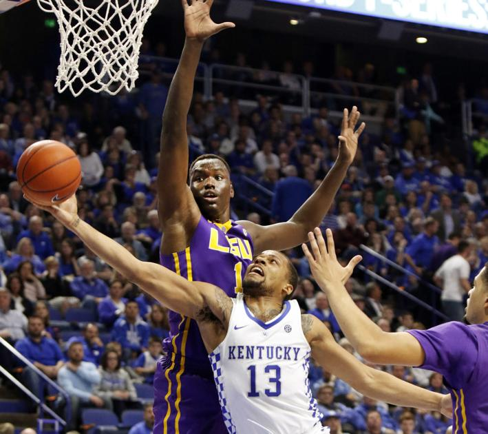 LSU basketball team hopes to bring strong play at Kentucky ...