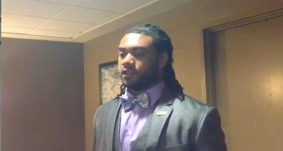 Video: LSU's Terrance Magee discusses the Tigers new running back corps for 2014 _lowres