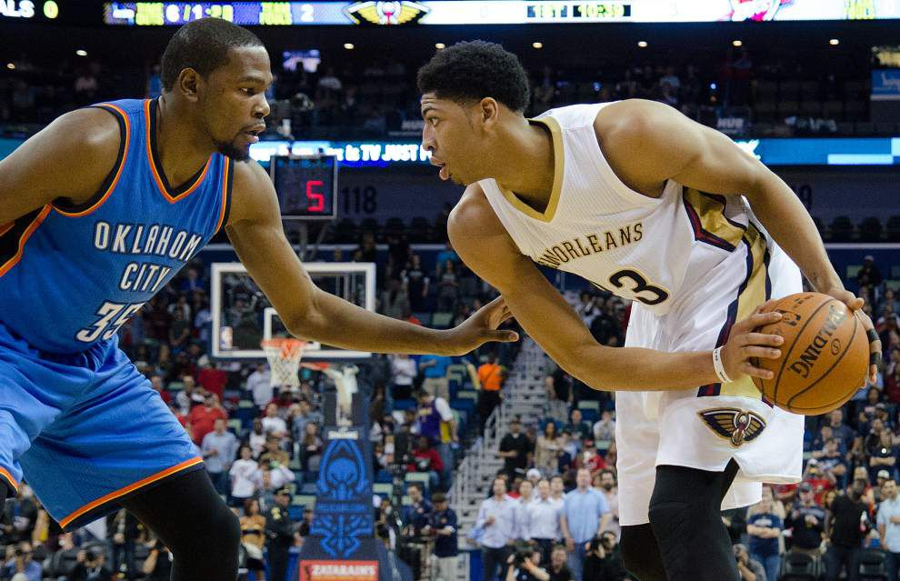 Video: Pelicans forward Anthony Davis talks about how the team snapped its three-game losing streak against Oklahoma City _lowres
