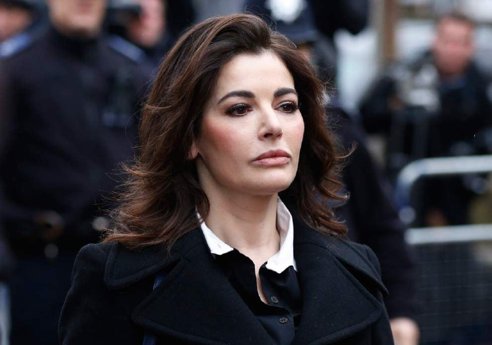 Nigella Lawson stopped from boarding plane to U.S. _lowres