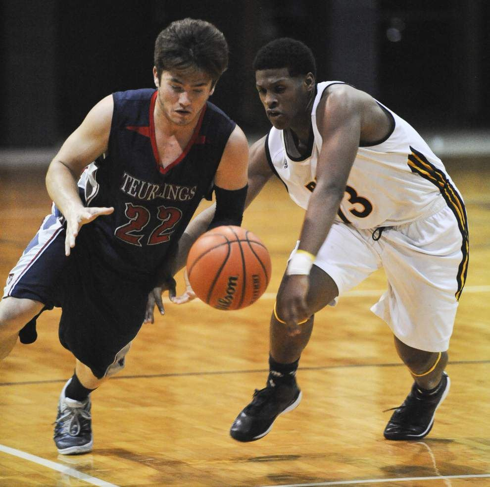 Carencro, Acadiana meet in key District 3-5A boys basketball game _lowres