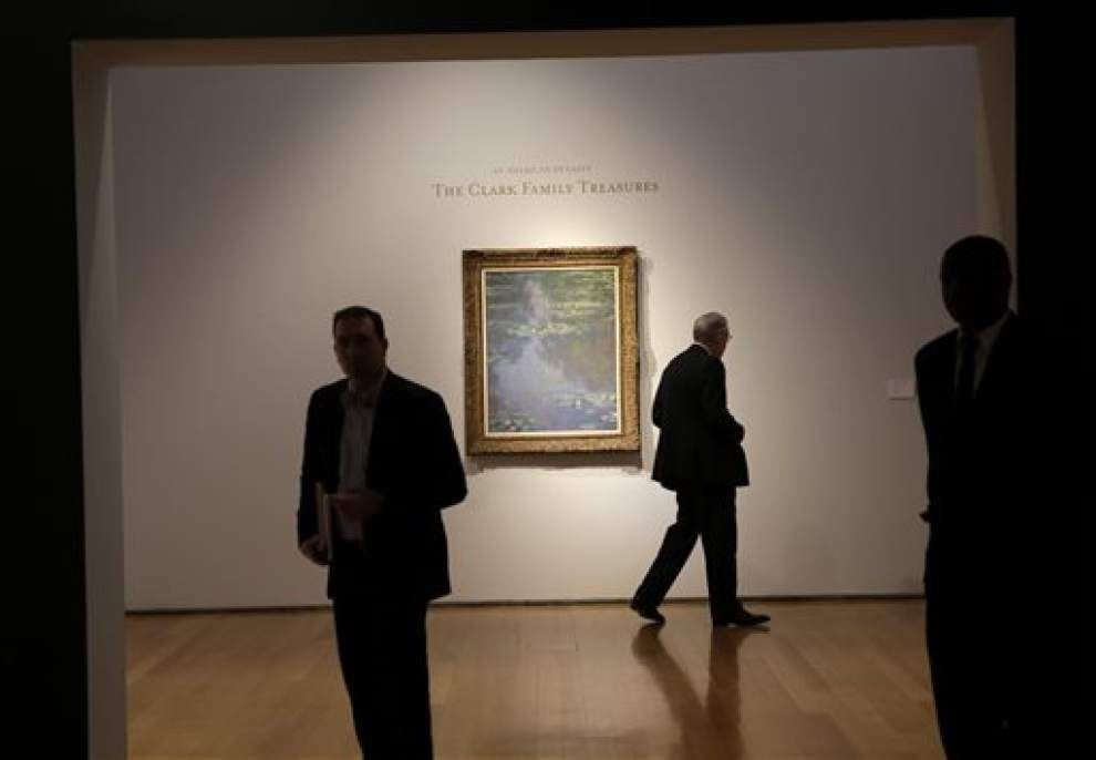 Monet, other art from big collectors lead auctions _lowres
