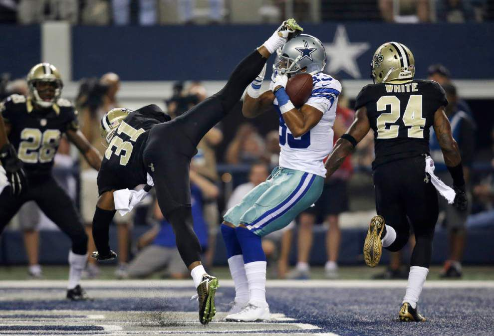 Saints take a Texas-sized tumble in a 38-17 loss to the Cowboys _lowres