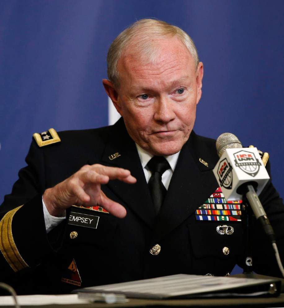 Dempsey: Half of Iraqi army not OK as partners partners _lowres