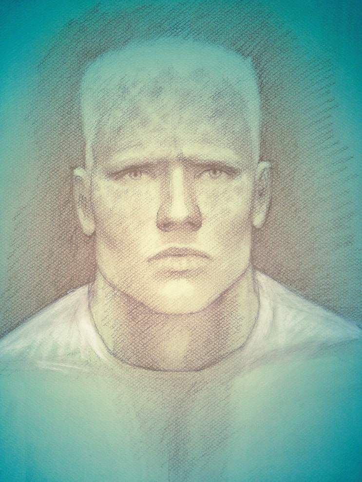 Police release sketch of invasion suspect _lowres